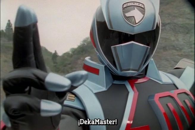 Llegó el Sexto Deka que no es considerado el Sexto, sino, un ranger extra en Gokaiger(ONOREEE)