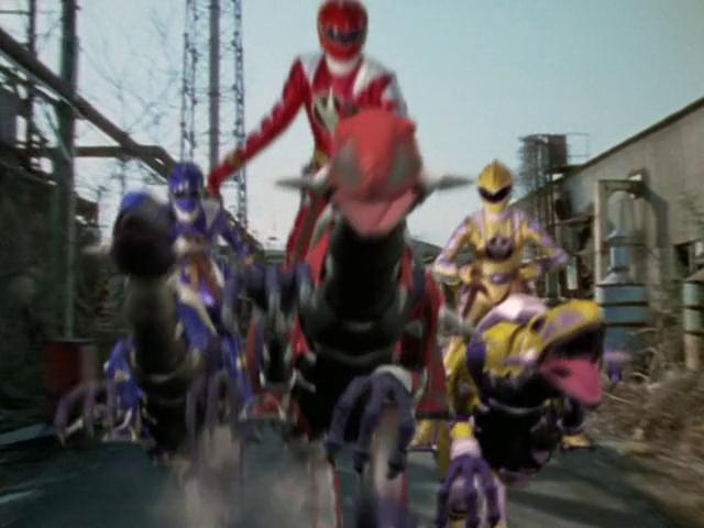 Los Riders tienen motos??? Pues nosotros velociraptors