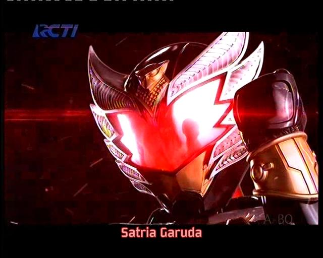 ¡El nuevo Héroe Satria Garuda Bima!