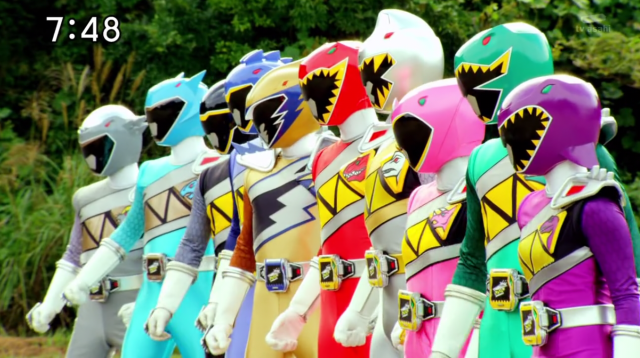 All_10_Kyoryugers!