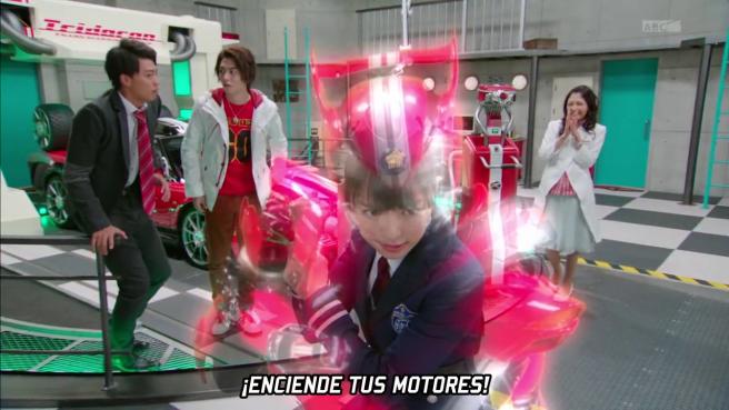 ¿Dead Heat? ¡¡Kiriko Rider!!